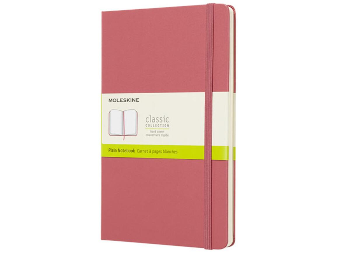 Classic Hardcover Notizbuch L – blanko, magenta bedrucken, Art.-Nr. 10716728