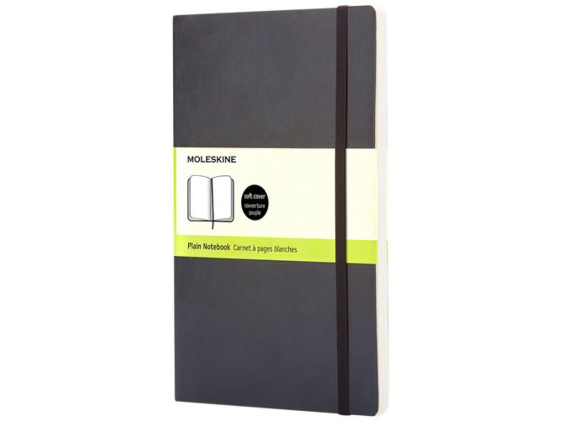 Classic Softcover Notizbuch L – blanko, schwarz bedrucken, Art.-Nr. 10716800