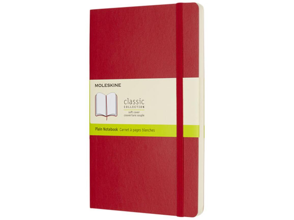 Classic Softcover Notizbuch L – blanko, scharlachrot bedrucken, Art.-Nr. 10716815