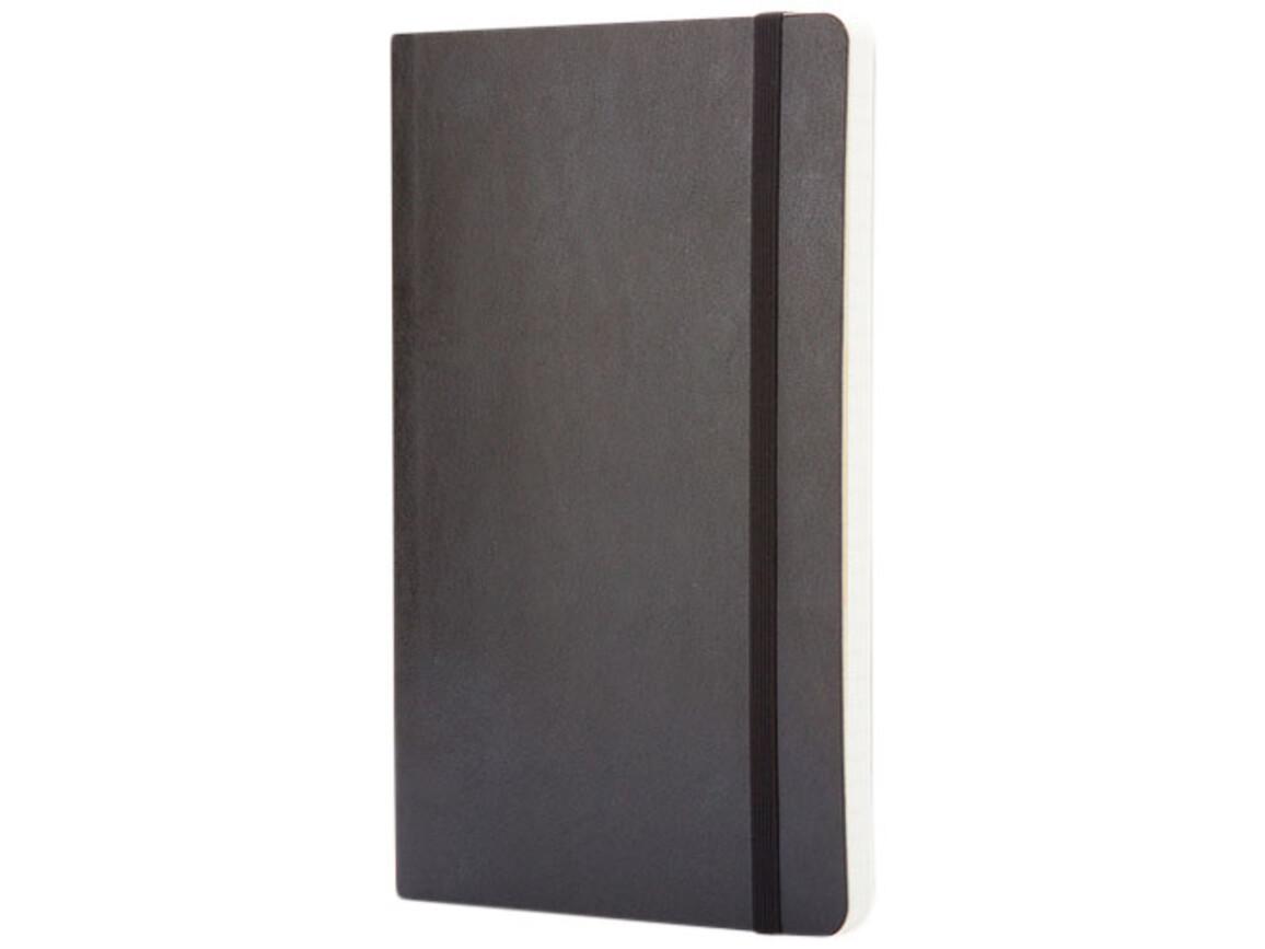 Classic Softcover Notizbuch L – kariert, schwarz bedrucken, Art.-Nr. 10717000