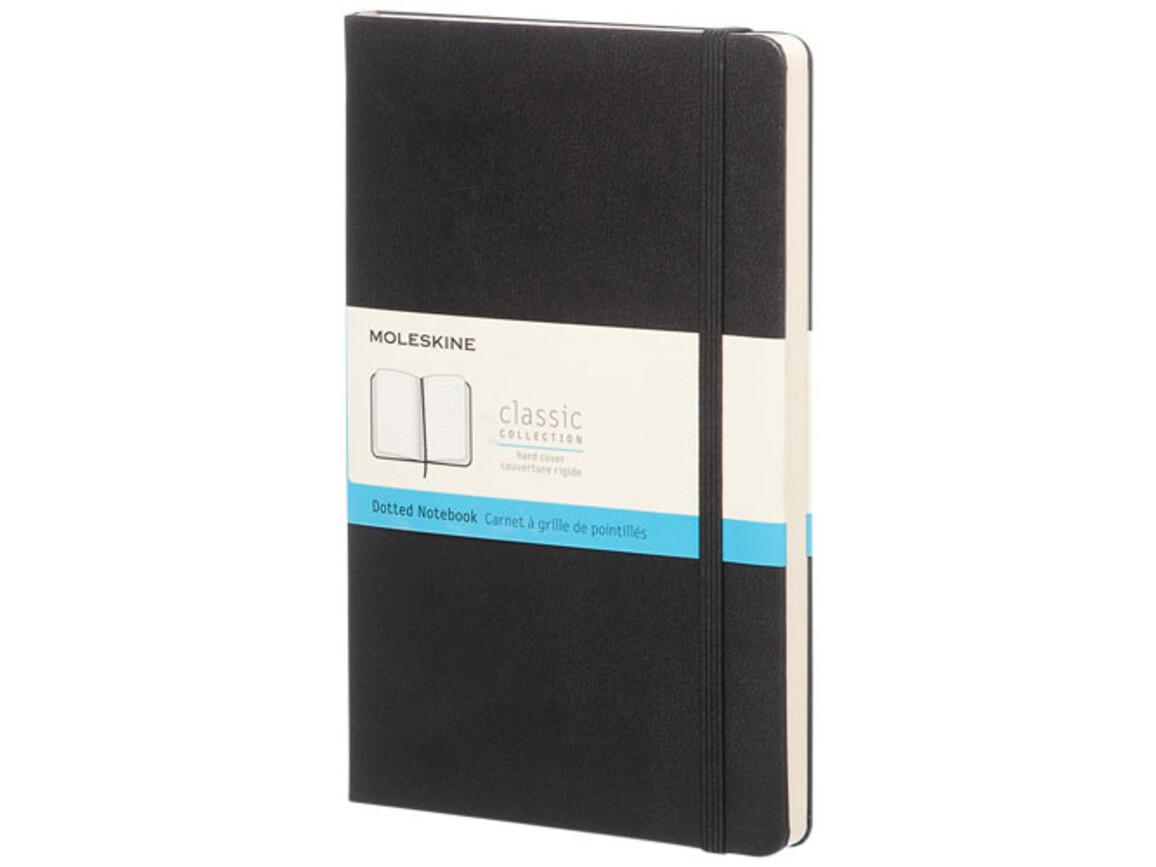 Classic Hardcover Notizbuch L – gepunktet, schwarz bedrucken, Art.-Nr. 10717700