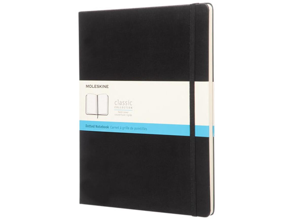 Classic Hardcover Notizbuch XL – gepunktet, schwarz bedrucken, Art.-Nr. 10717800