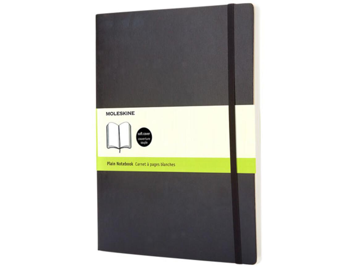 Classic Softcover Notizbuch XL – blanko, schwarz bedrucken, Art.-Nr. 10718100
