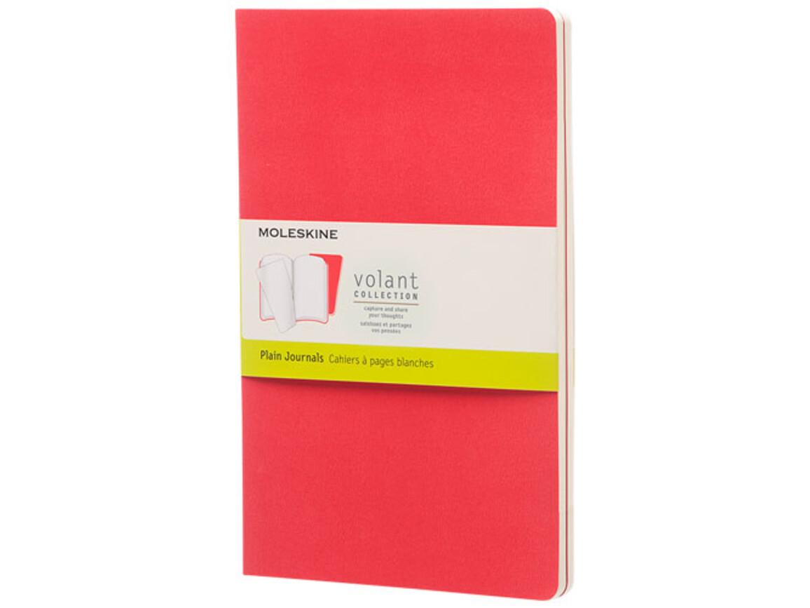 Volant Journal L – blanko, Geranien rot bedrucken, Art.-Nr. 10718414
