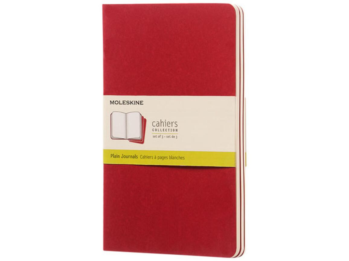 Cahier Journal L – blanko, Cranberry rot bedrucken, Art.-Nr. 10719216