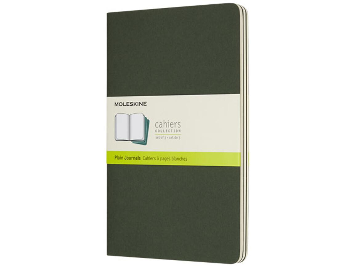 Cahier Journal L – blanko, myrtengrün bedrucken, Art.-Nr. 10719220