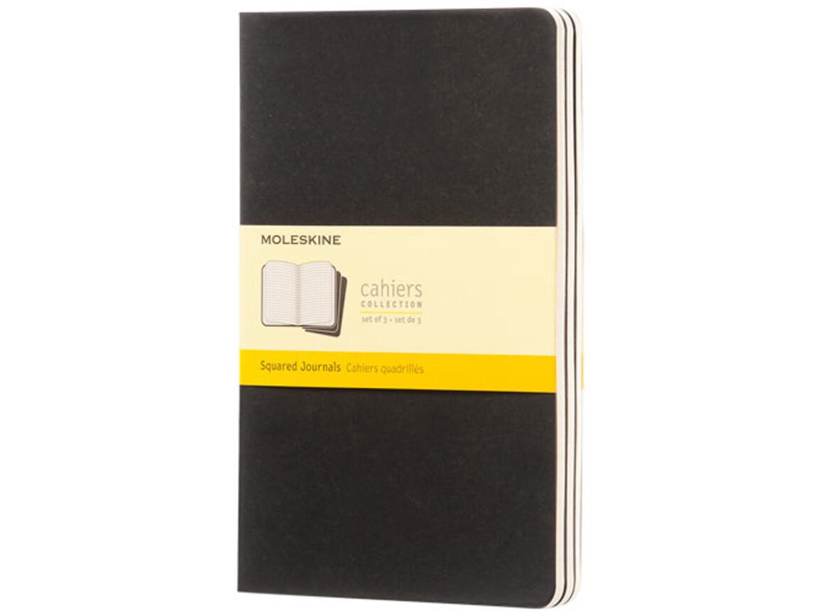 Cahier Journal L – kariert, schwarz bedrucken, Art.-Nr. 10719300