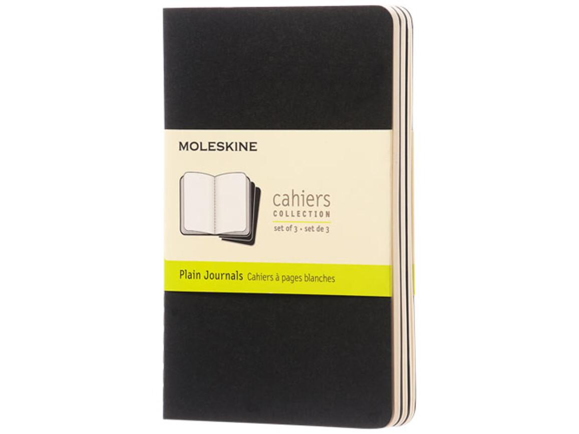 Cahier Journal Taschenformat – blanko, schwarz bedrucken, Art.-Nr. 10719400
