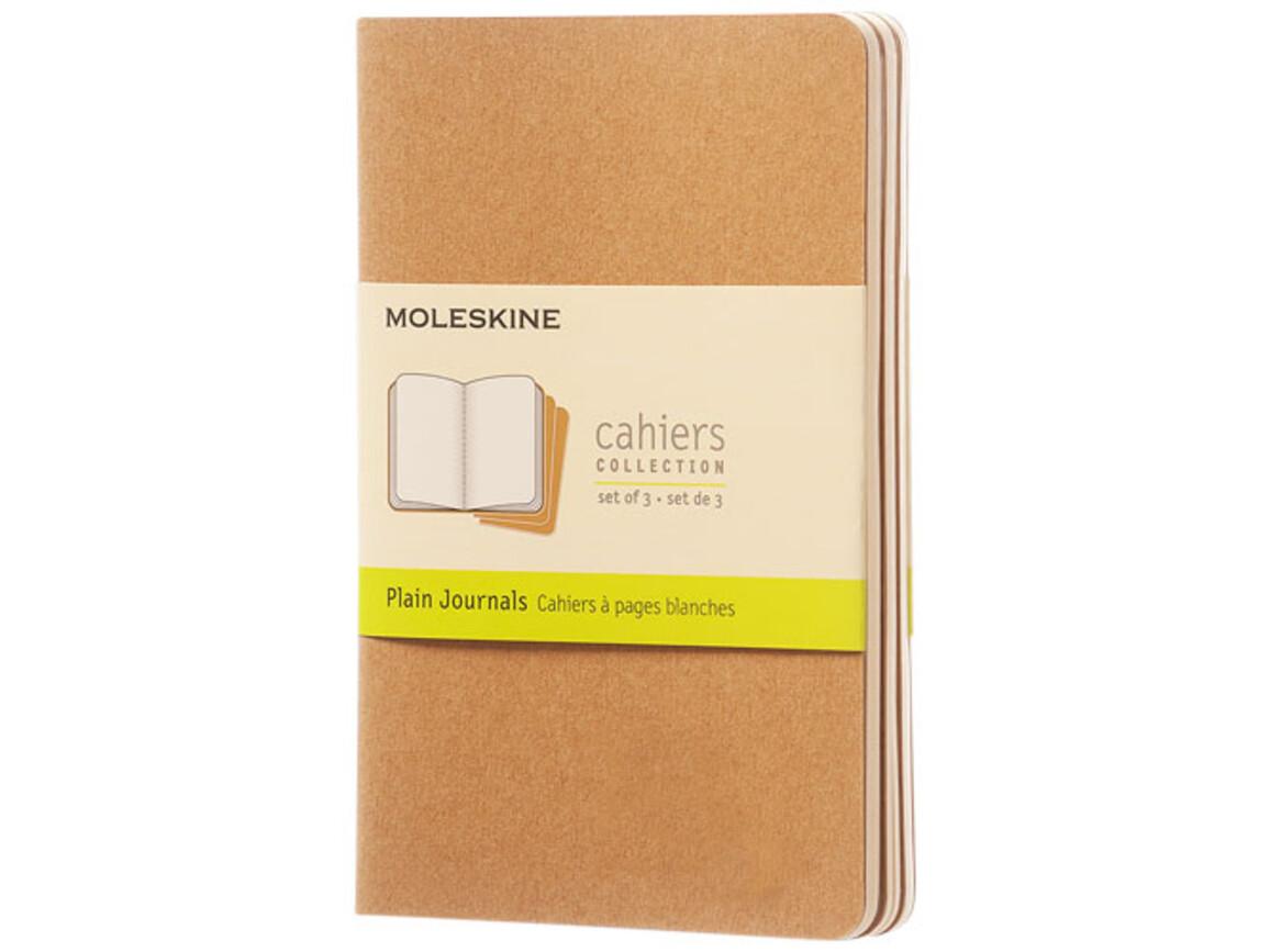 Cahier Journal Taschenformat – blanko, Kraftpapier bedrucken, Art.-Nr. 10719425
