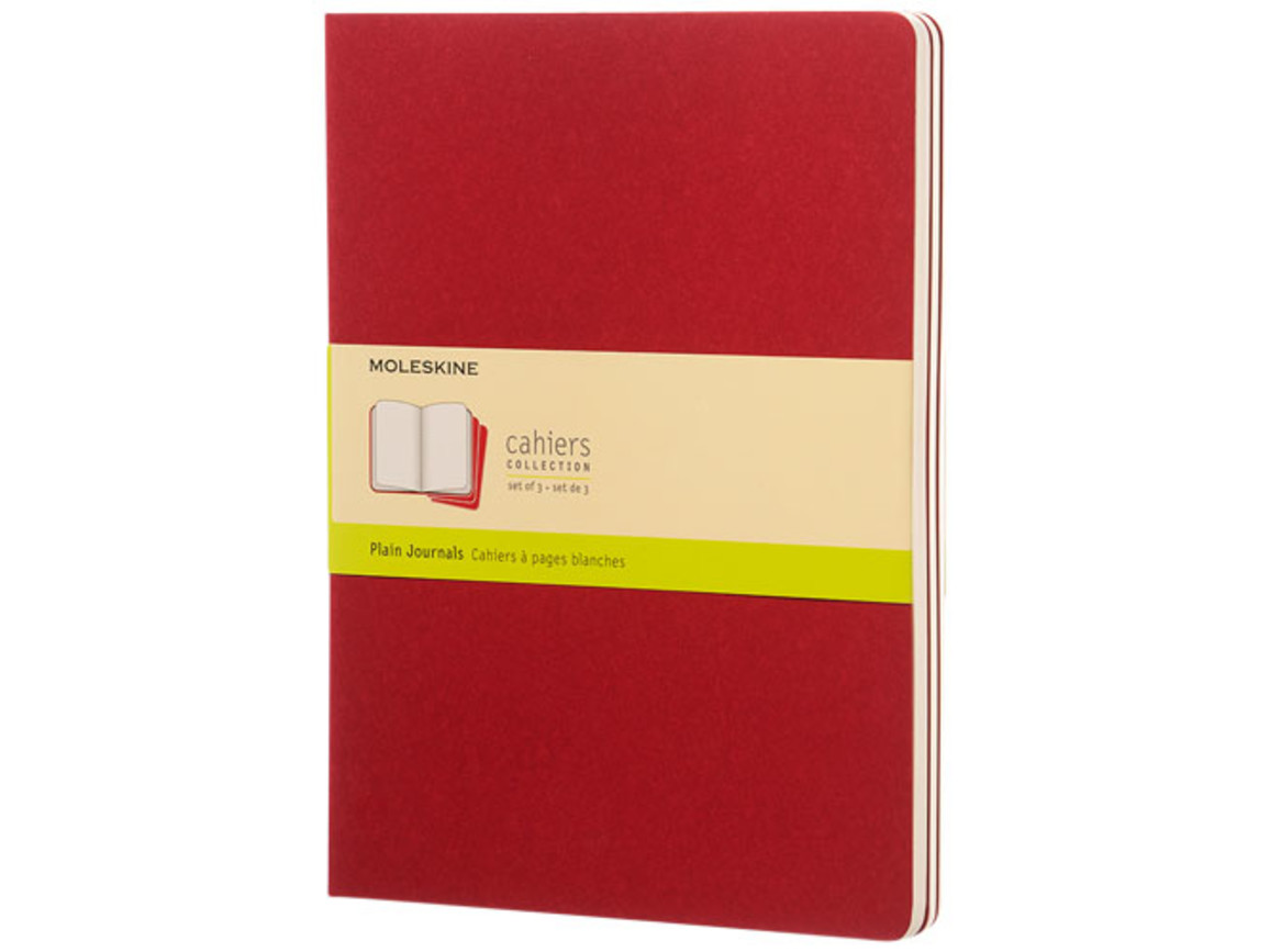 Cahier Journal XL – blanko, Cranberry rot bedrucken, Art.-Nr. 10719616
