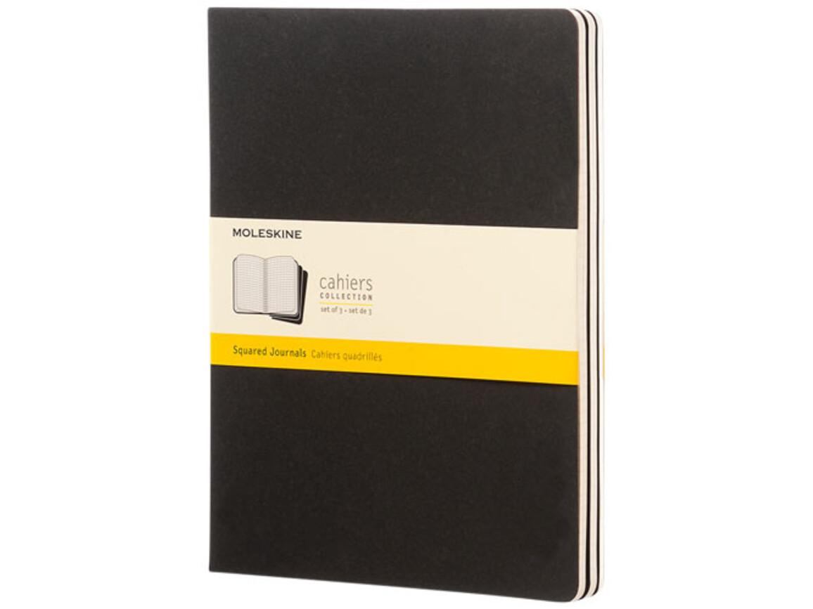 Cahier Journal XL – kariert, schwarz bedrucken, Art.-Nr. 10719700