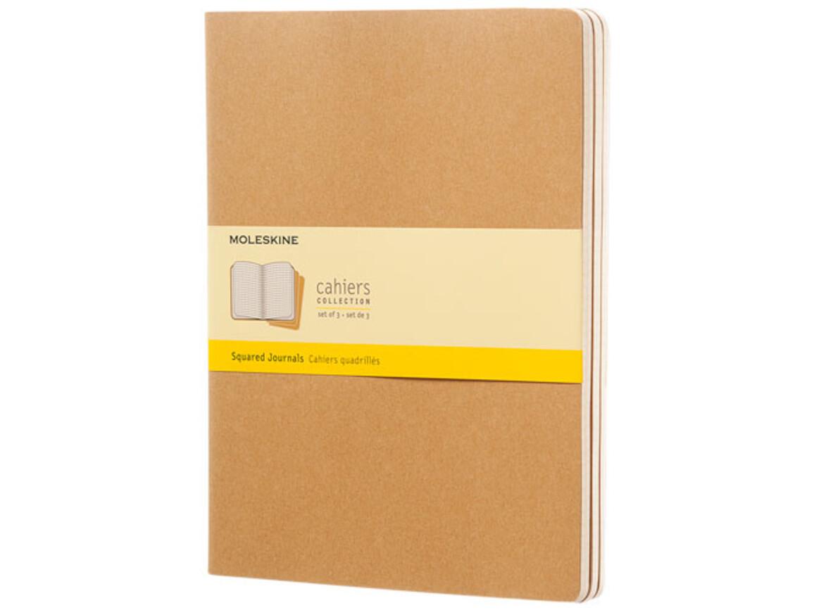 Cahier Journal XL – kariert, Kraftpapier bedrucken, Art.-Nr. 10719725