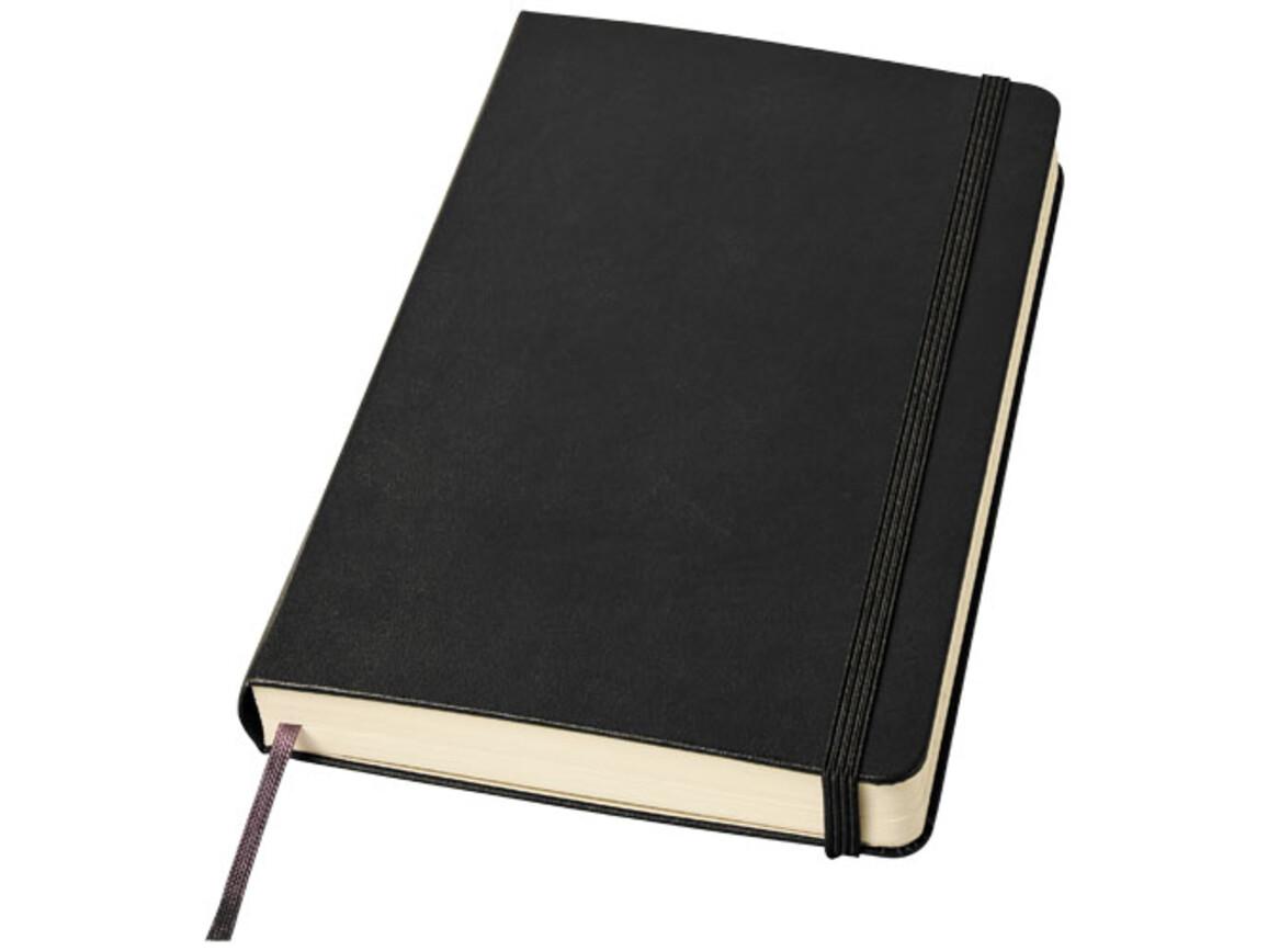 Classic Expanded Hardcover Notizbuch L – liniert, schwarz bedrucken, Art.-Nr. 10737500
