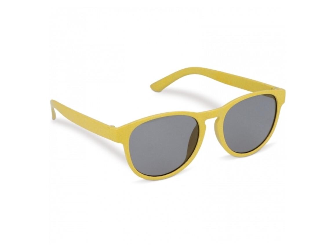 Sonnenbrille Weizenstroh Erde - Gelb bedrucken, Art.-Nr. LT86715-N0041