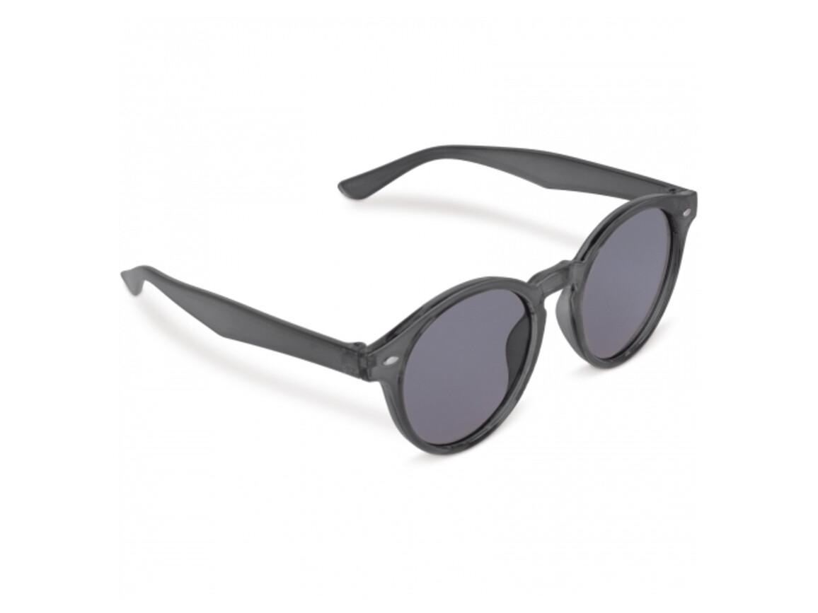 Sonnenbrille Jacky Transparent - Transparent Schwarz bedrucken, Art.-Nr. LT86717-N0402