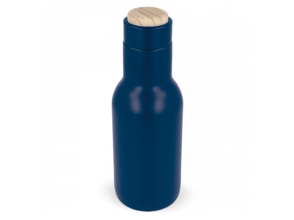 Trinkflasche Gustav 340ml - Dunkelblau bedrucken, Art.-Nr. LT98831-N0010