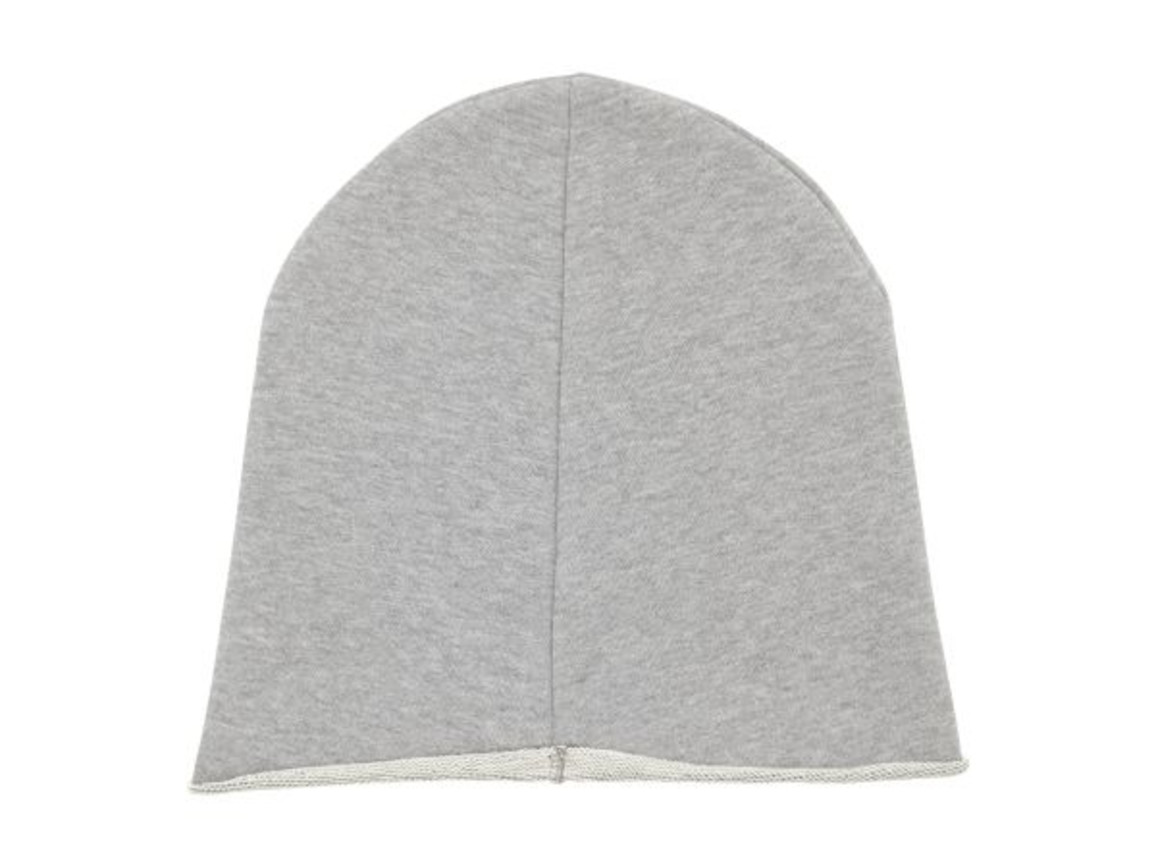 Beanie aus Terry-Sweatstoff - Heather Grey - OS bedrucken, Art.-Nr. STAU750C250OS