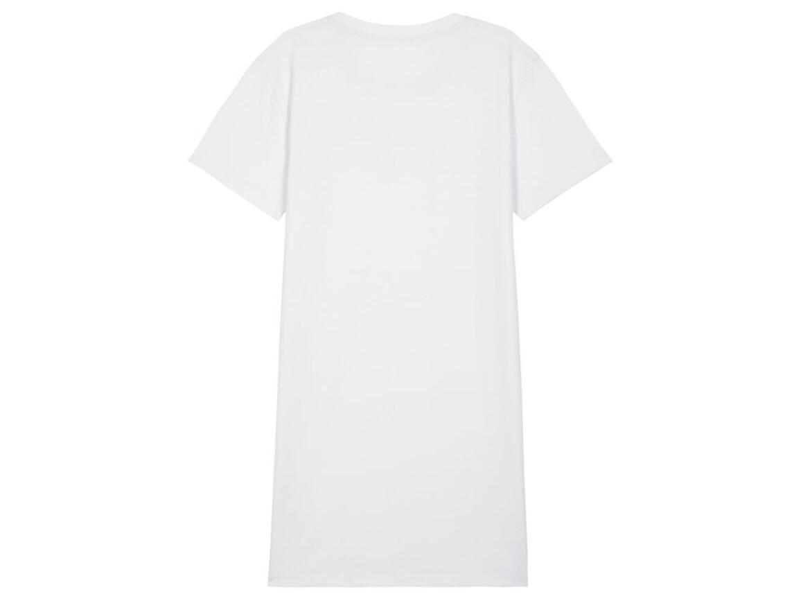 Damen T-Shirt-Kleid - White - M bedrucken, Art.-Nr. STDW144C0011M