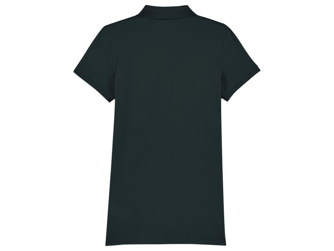 Damen Poloshirt - Black - M bedrucken, Art.-Nr. STPW034C0021M