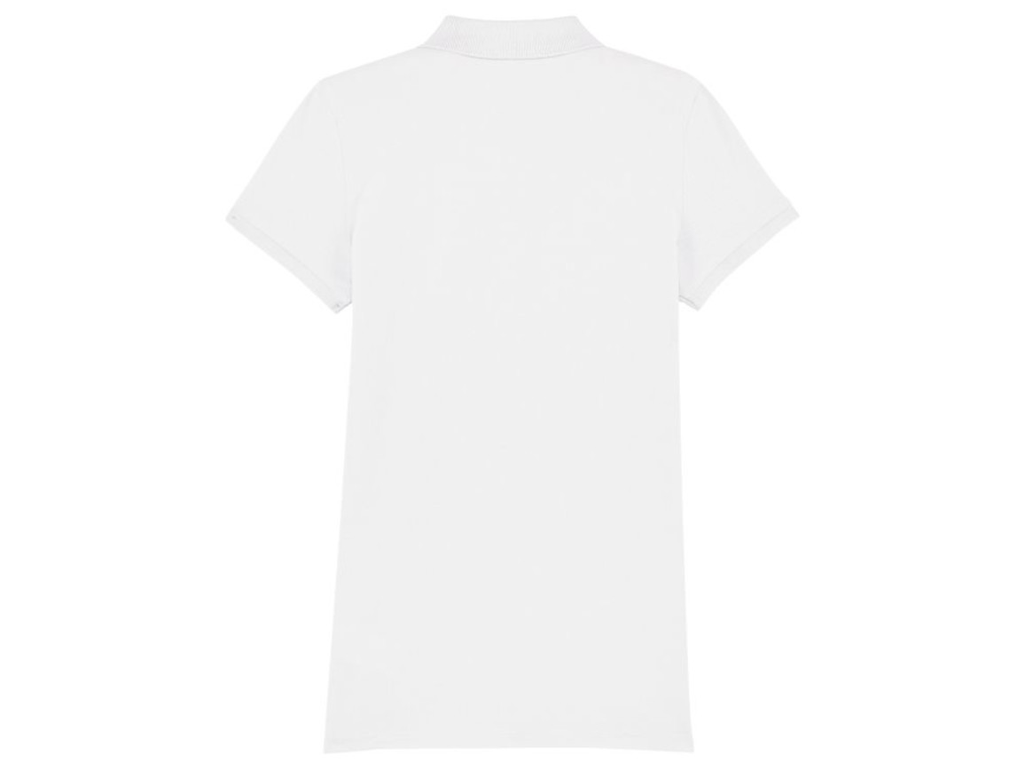 Damen Poloshirt - White - M bedrucken, Art.-Nr. STPW034C0011M