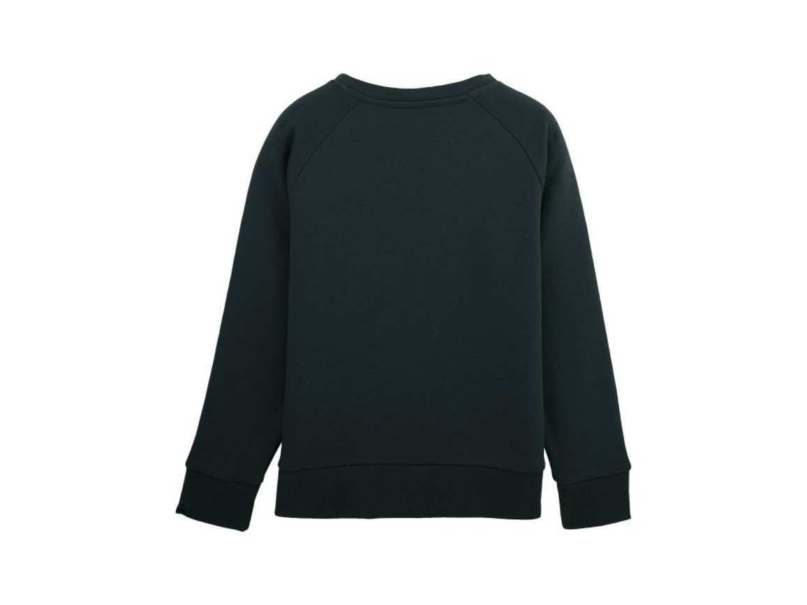 Kinder Rundhals-Sweatshirt - Black - 3-4 bedrucken, Art.-Nr. STSK904C00203
