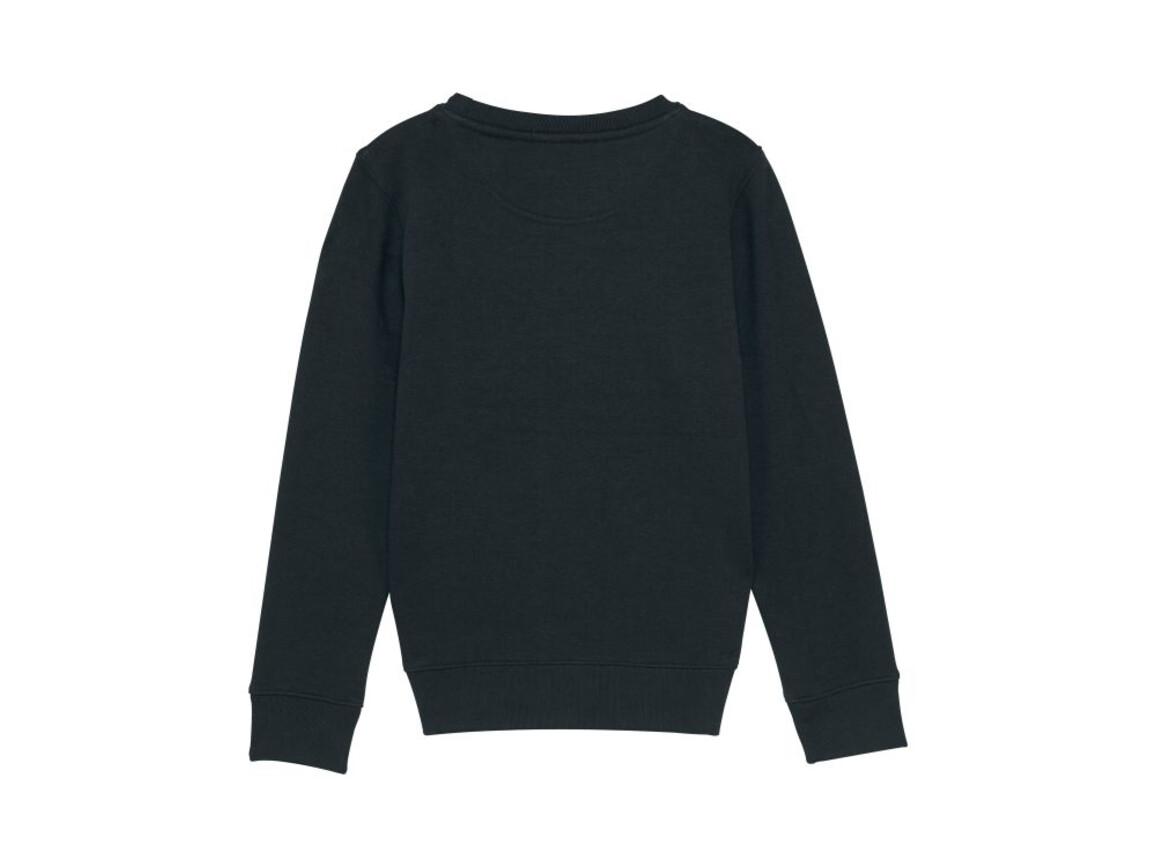 Iconic Kinder Rundhals-Sweatshirt - Black - 5-6 bedrucken, Art.-Nr. STSK913C00205