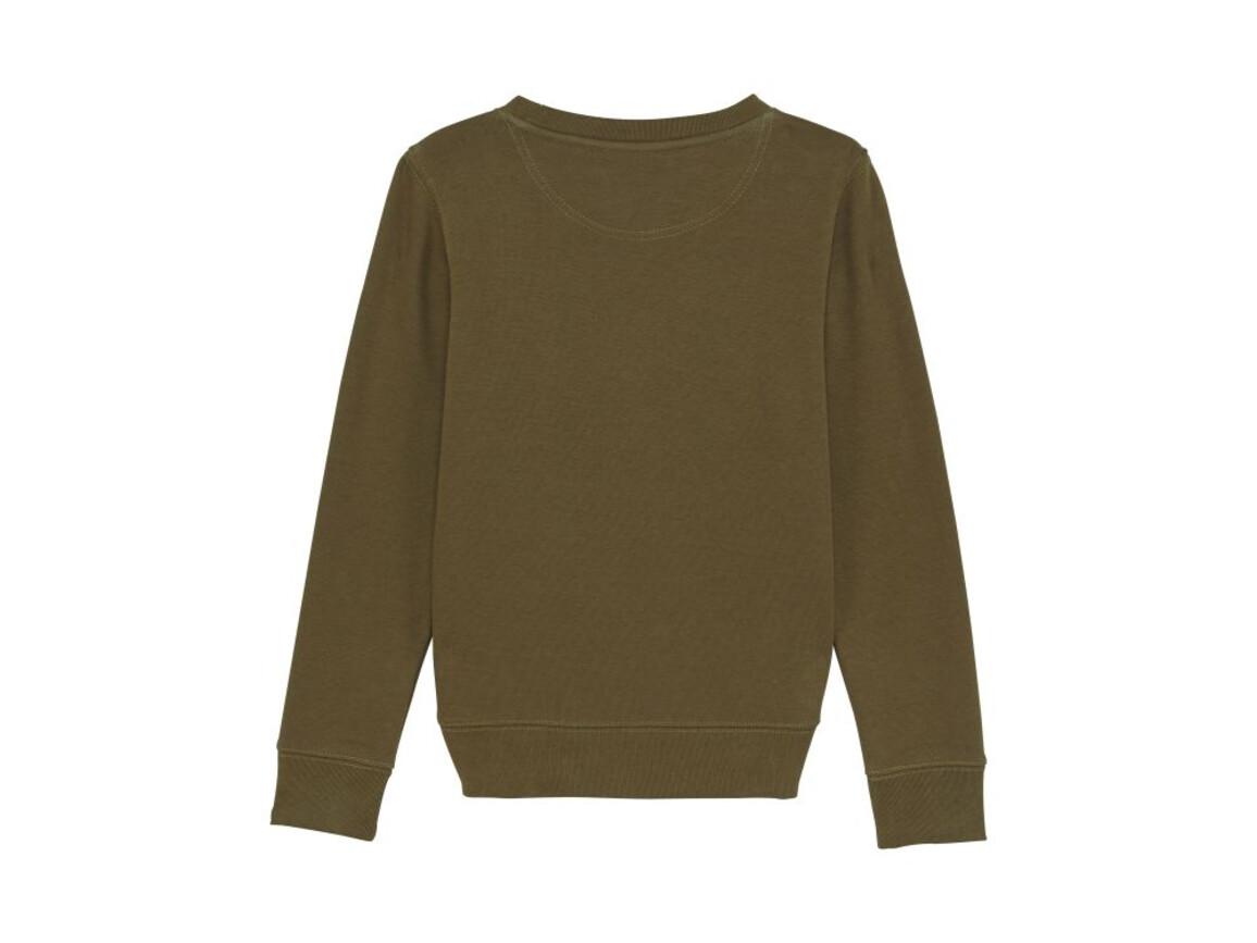 Iconic Kinder Rundhals-Sweatshirt - British Khaki - 3-4 bedrucken, Art.-Nr. STSK913C00803