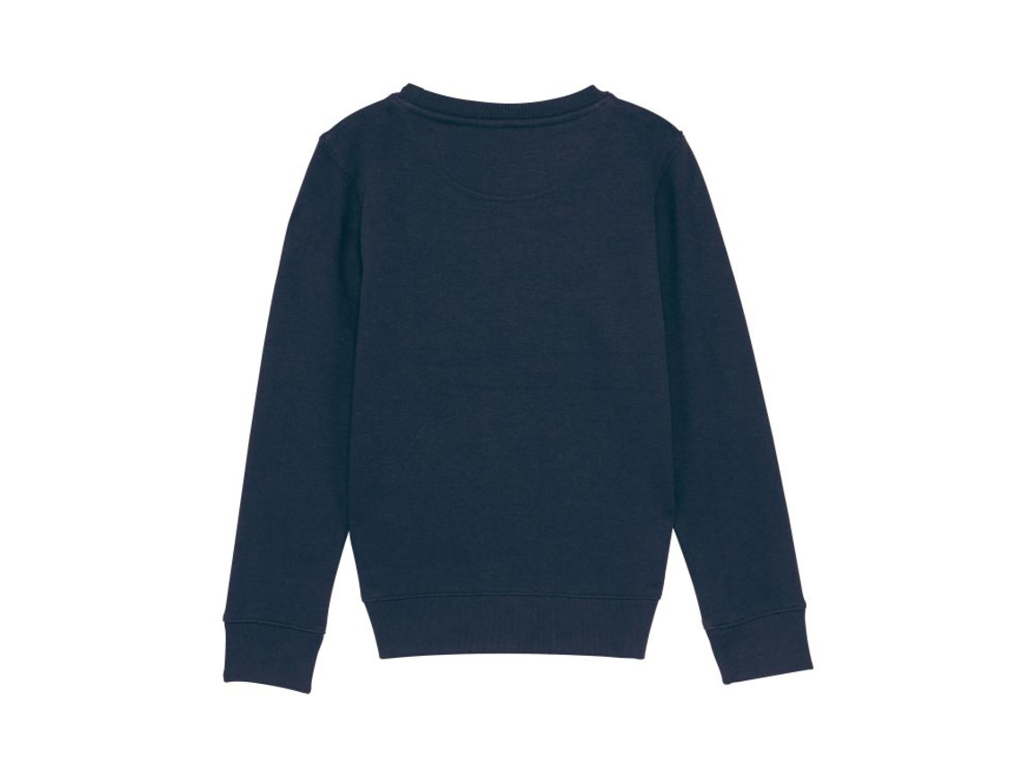 Iconic Kinder Rundhals-Sweatshirt - French Navy - 3-4 bedrucken, Art.-Nr. STSK913C72703