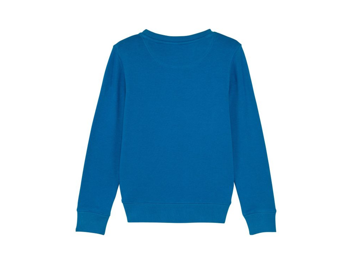 Iconic Kinder Rundhals-Sweatshirt - Royal Blue - 7-8 bedrucken, Art.-Nr. STSK913C23007
