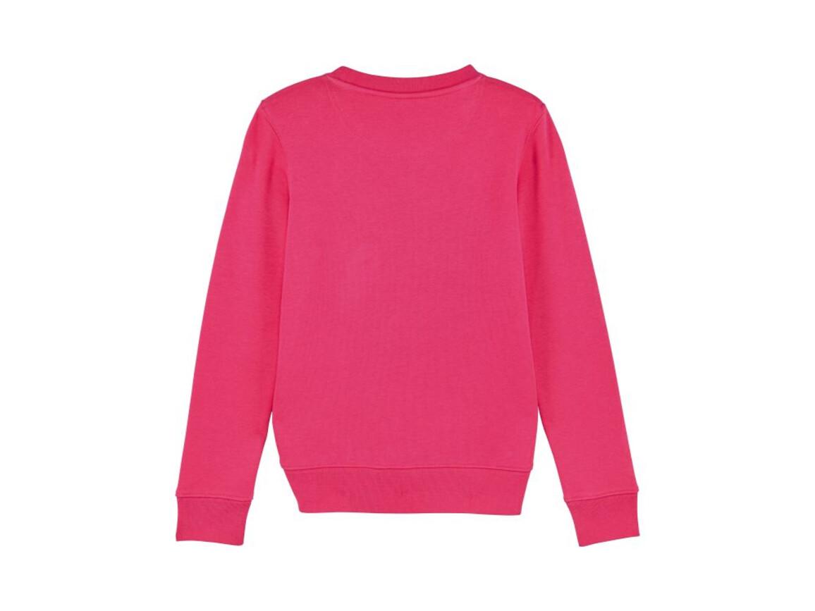Iconic Kinder Rundhals-Sweatshirt - Raspberry - 9-11 bedrucken, Art.-Nr. STSK913C24009