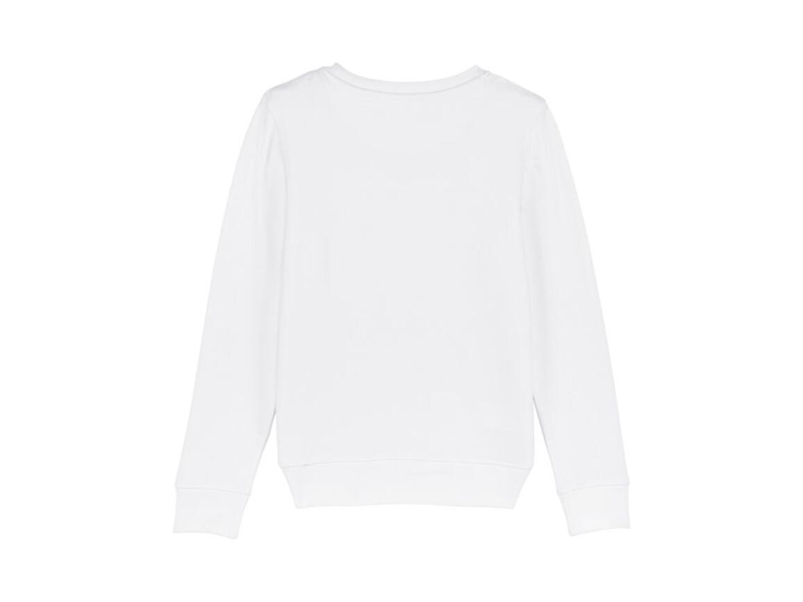 Iconic Kinder Rundhals-Sweatshirt - White - 3-4 bedrucken, Art.-Nr. STSK913C00103