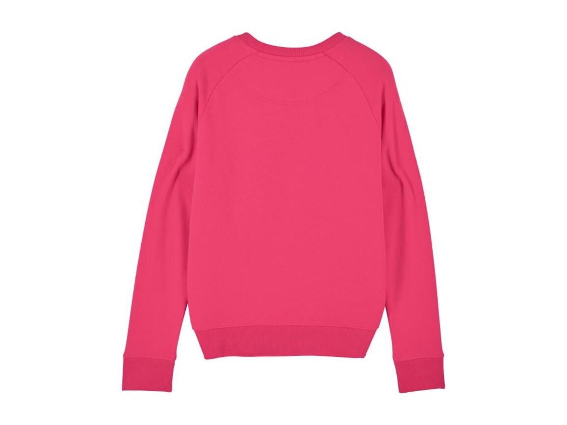Iconic Damen Rundhals-Sweatshirt - Pink Punch - M bedrucken, Art.-Nr. STSW146C0241M