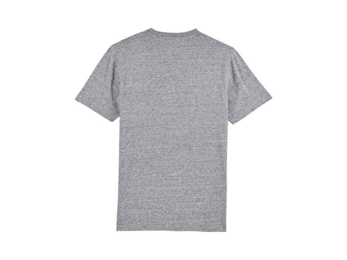 Schweres Herren T-Shirt - Slub Heather Grey - M bedrucken, Art.-Nr. STTM559C6711M