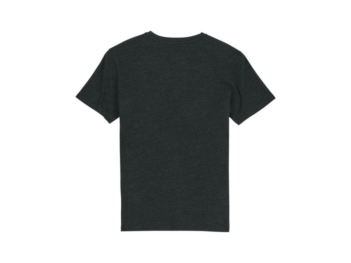Iconic Unisex T-Shirt - Heather Black Denim - XL bedrucken, Art.-Nr. STTU755C6971X