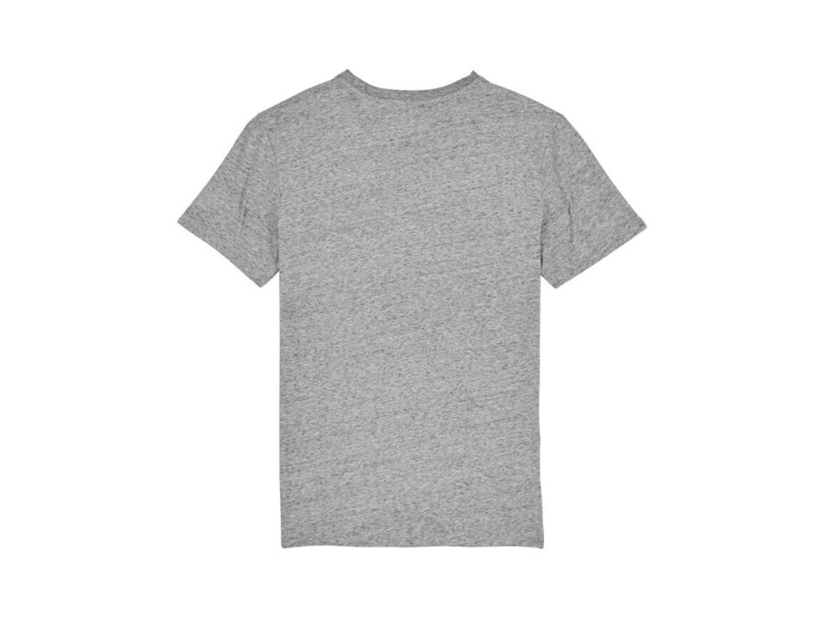 Iconic Unisex T-Shirt - Slub Heather Grey - XL bedrucken, Art.-Nr. STTU755C6711X