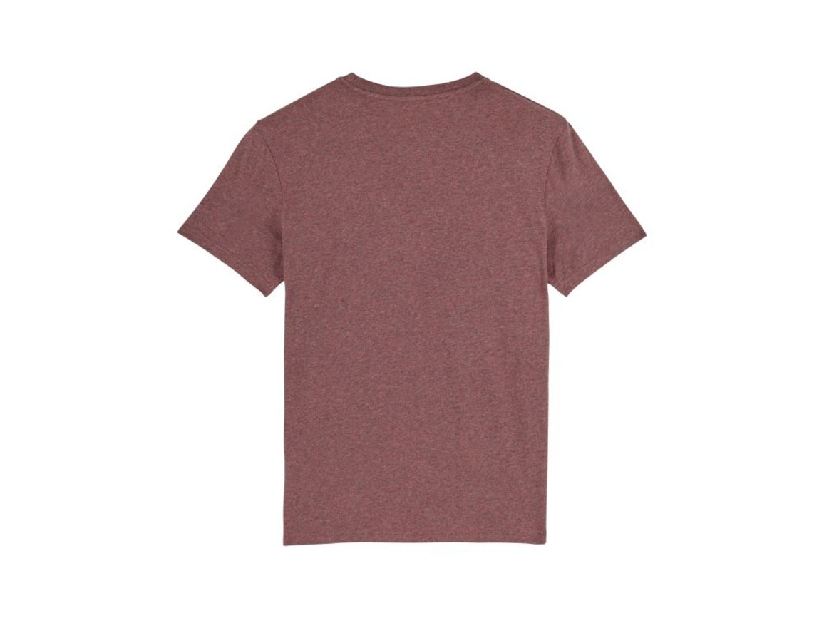 Iconic Unisex T-Shirt - Black Heather Cranberry - XXL bedrucken, Art.-Nr. STTU755C5892X