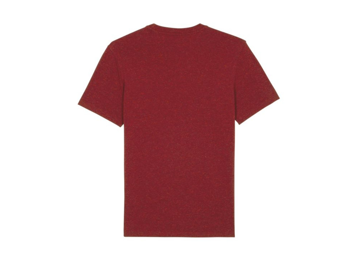 Iconic Unisex T-Shirt - Heather Neppy Burgundy - XXL bedrucken, Art.-Nr. STTU755C6872X