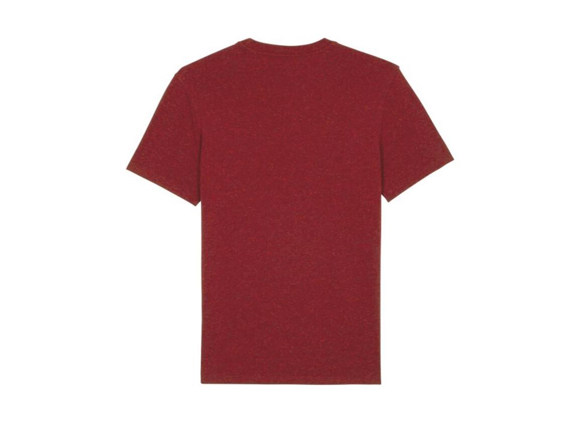 Iconic Unisex T-Shirt - Heather Neppy Burgundy - XL bedrucken, Art.-Nr. STTU755C6871X