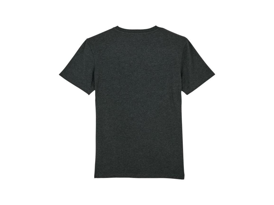 Iconic Unisex T-Shirt - Dark Heather Grey - M bedrucken, Art.-Nr. STTU755C6511M