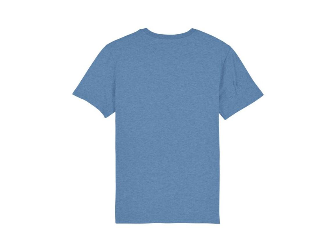 Iconic Unisex T-Shirt - Mid Heather Blue - XS bedrucken, Art.-Nr. STTU755C653XS