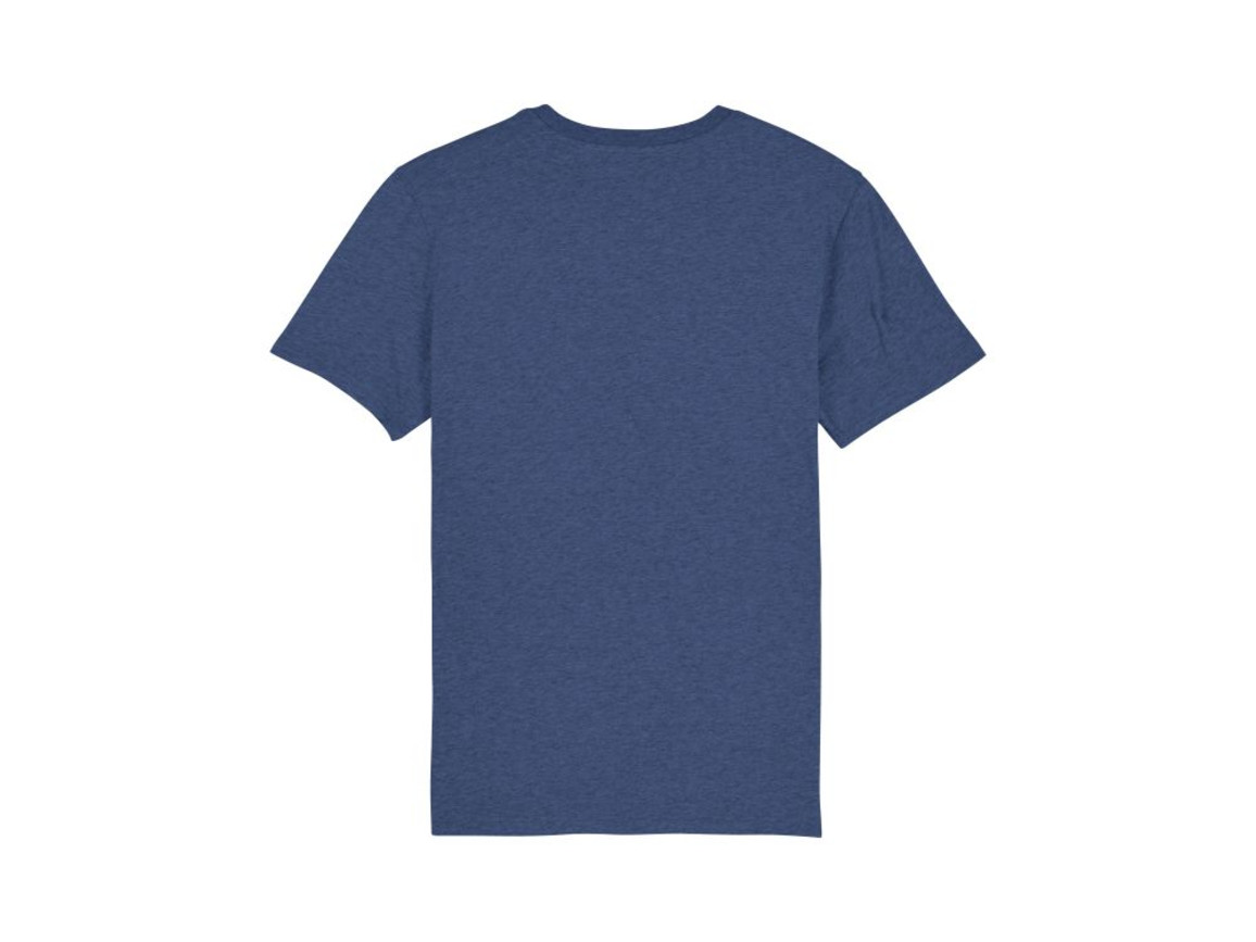 Iconic Unisex T-Shirt - Dark Heather Indigo - M bedrucken, Art.-Nr. STTU755C6581M