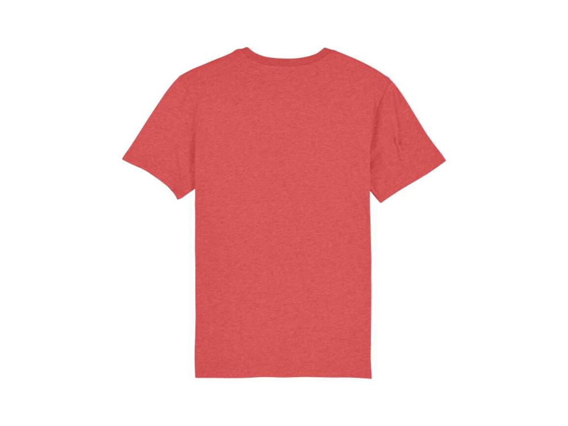 Iconic Unisex T-Shirt - Mid Heather Red - XS bedrucken, Art.-Nr. STTU755C657XS