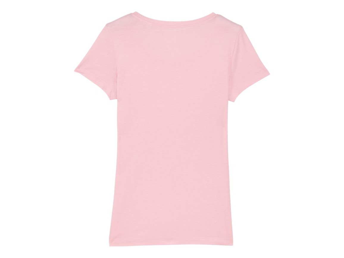 Iconic Damen T-Shirt - Cotton Pink - XL bedrucken, Art.-Nr. STTW017C0051X