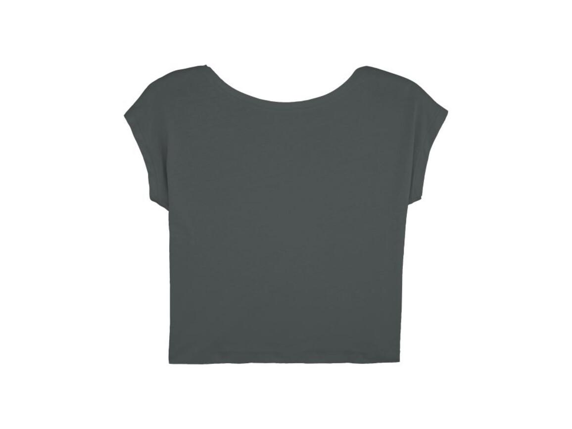 Damen Kurzes T-Shirt - Anthracite - M bedrucken, Art.-Nr. STTW041C2531M