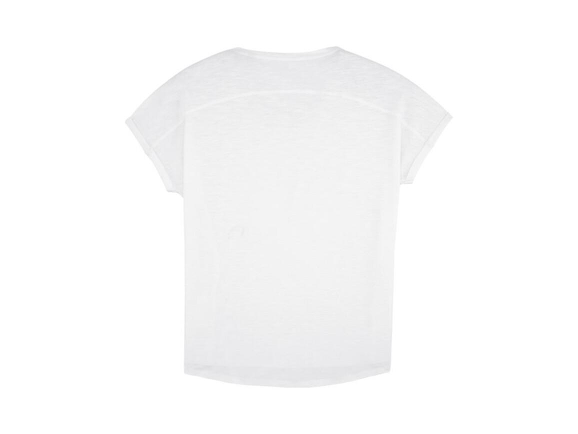 Damen T-Shirt mit weiter Passform - White - L bedrucken, Art.-Nr. STTW062C0011L