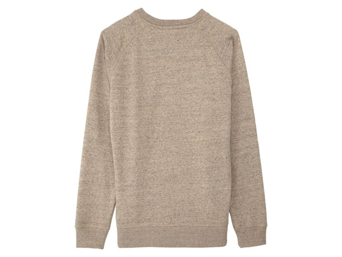 Raglan-Sweatshirt mit Rundhalsausschnitt - Slub Mid Heather Clay - S bedrucken, Art.-Nr. STSM522C6771S