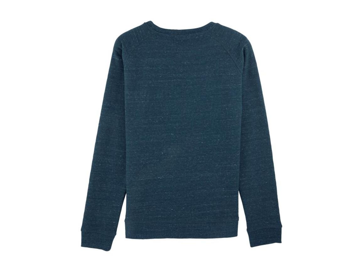 Raglan-Sweatshirt mit Rundhalsausschnitt - Dark Heather Denim - XXS bedrucken, Art.-Nr. STSW049C6702S