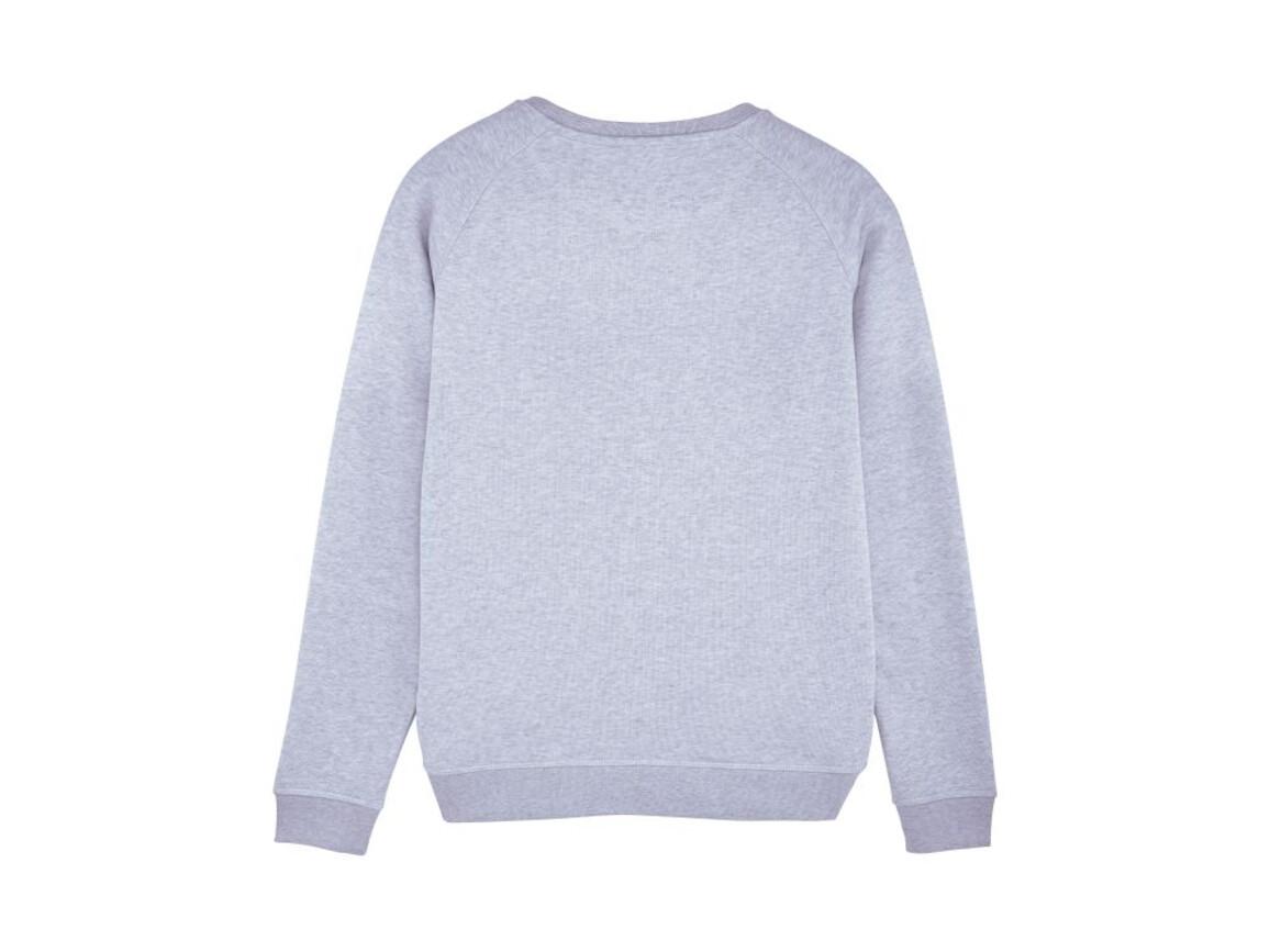 Raglan-Sweatshirt mit Rundhalsausschnitt - Light Heather Lilac - M bedrucken, Art.-Nr. STSW049C6851M