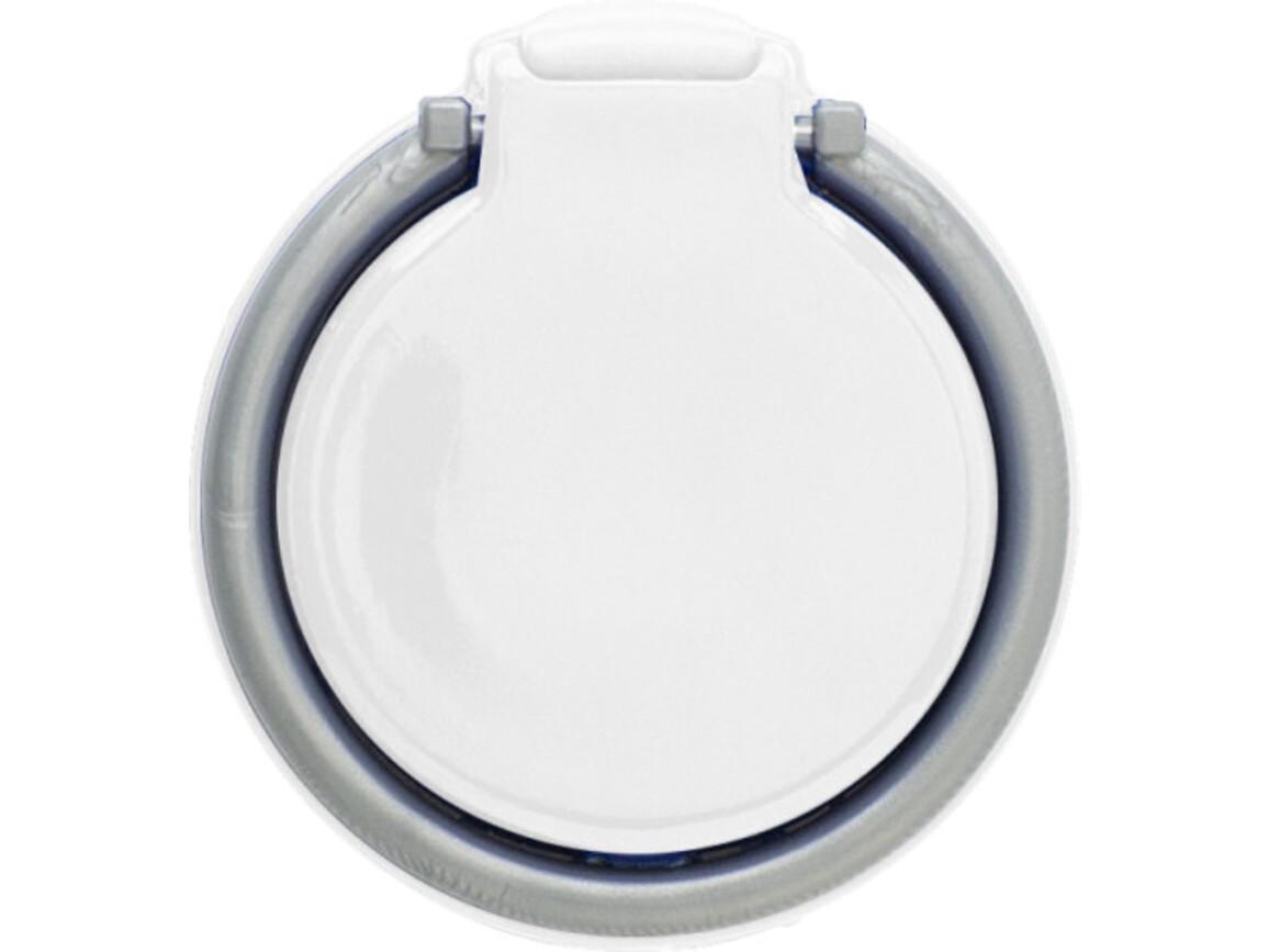 Handyhalterung 'Place It' aus Kunststoff – Weiß bedrucken, Art.-Nr. 002999999_8472