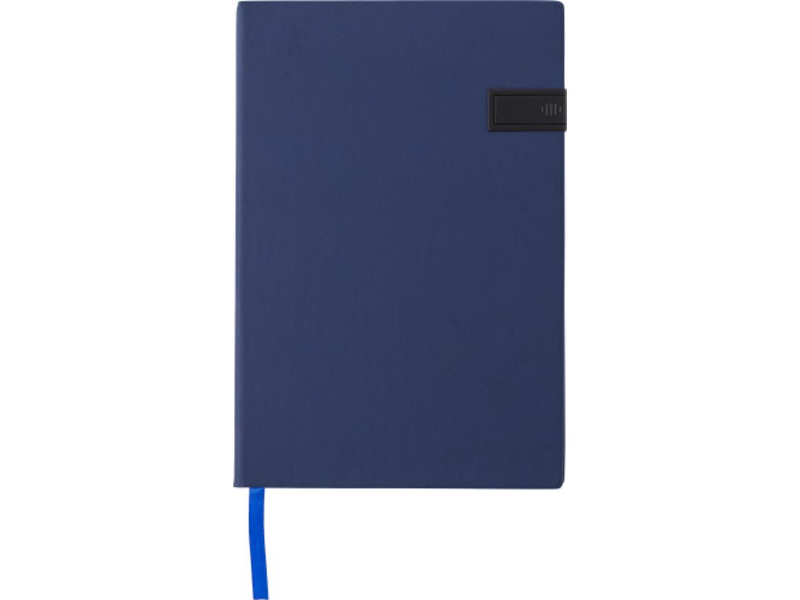 Notizbuch 'Target' aus PU – Weiß bedrucken, Art.-Nr. 002999040_8582